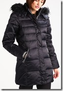Gaastra black down coat - red also