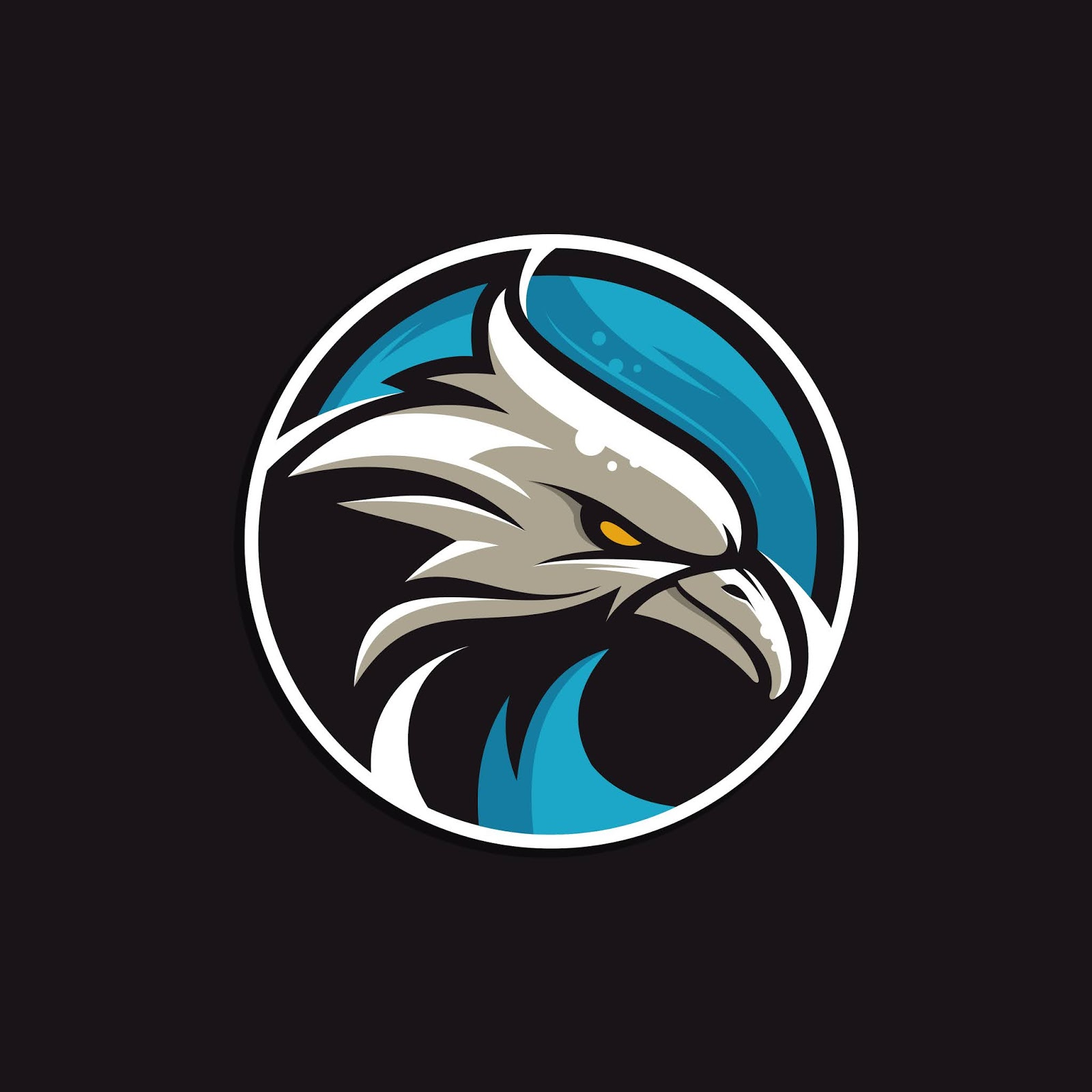 Eagle Color Full Gaze Logo Free Download Vector CDR, AI, EPS and PNG Formats