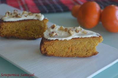 Orange - Almond cake