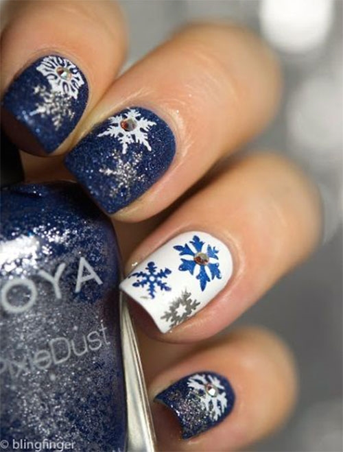 Top 16 Winter Acrylic Christmas Nail Art Ideas & Trends ...