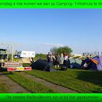 001-Woensdag 4 mei. Aankomst op Camping-