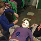 Gipsmaskers maken 13/10/2012