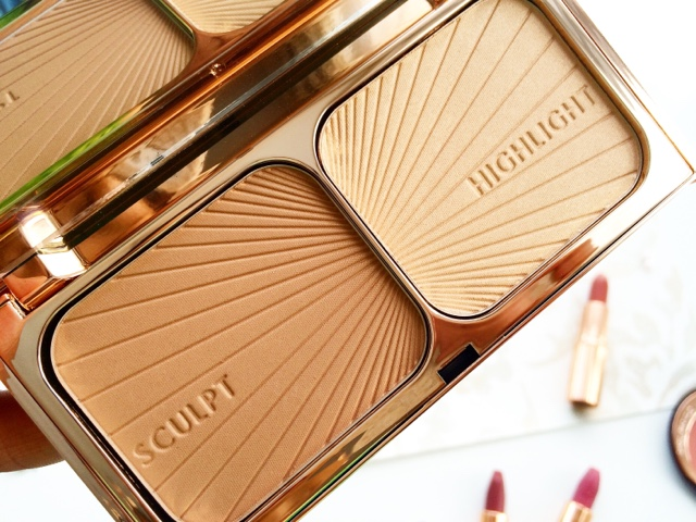 best charlotte tilbury hollywood bronze and glow light to medium contour kit and highlighter