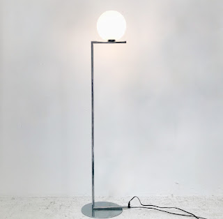 Flos IC Lights F1 Chrome Floor Lamp