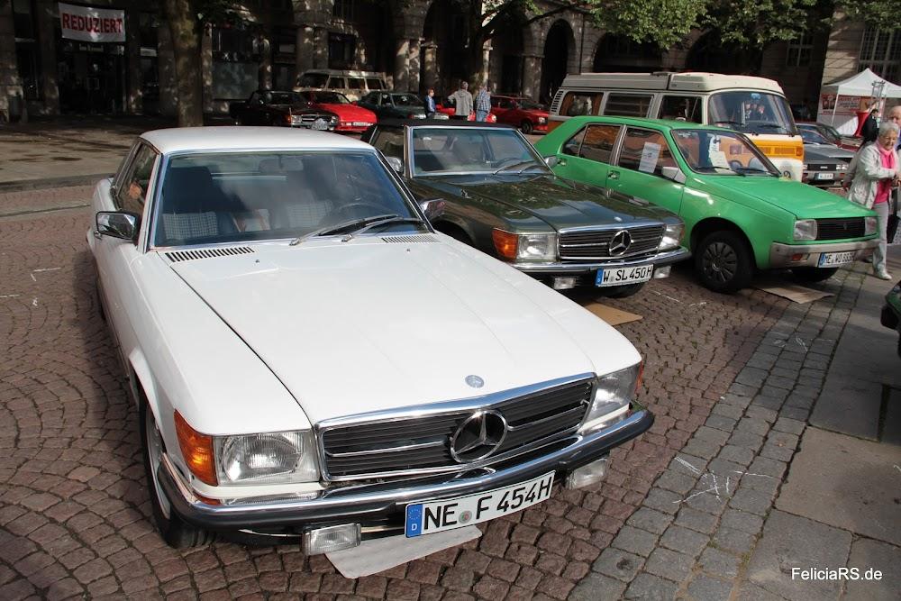 Startnummer 61 Mercedes 450 SLC 1978