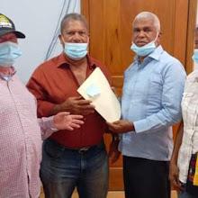 Director del Indesur recibe Comitiva de Junta de Vecinos de La Descubierta.