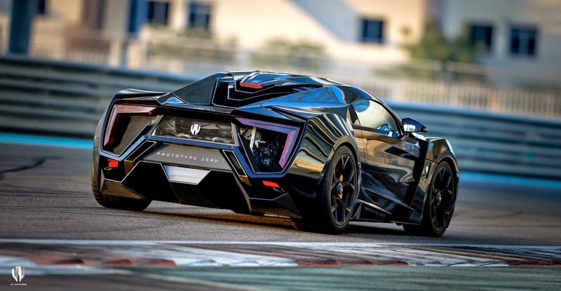 W Motors Lykan HyperSport - the star of Fast & Furious 7! [w/VIDEO]