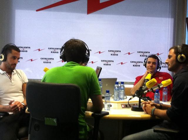 entrevista en catalunya radio restaurante a domicilio Mejor en casa