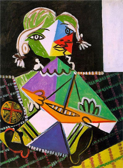 Pablo Picasso - Maya with boat, 1938