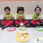 Triangle Day Celebration by Nursery Section at Witty World Bangur Nagar (2018-2019)