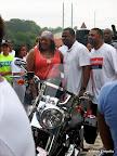 Atlanta Mayor Kasim Reed, posing with supporters before the Pink Ribbon Walk.