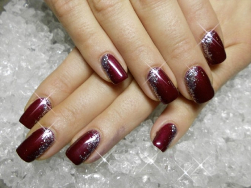 Famous New Year Acrylic Nail Designs Picture Collection - Nail Art ...
