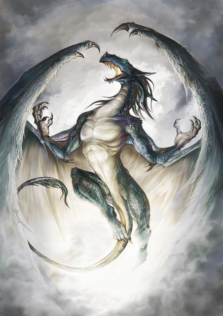 Scream Of Dragon, Dragons