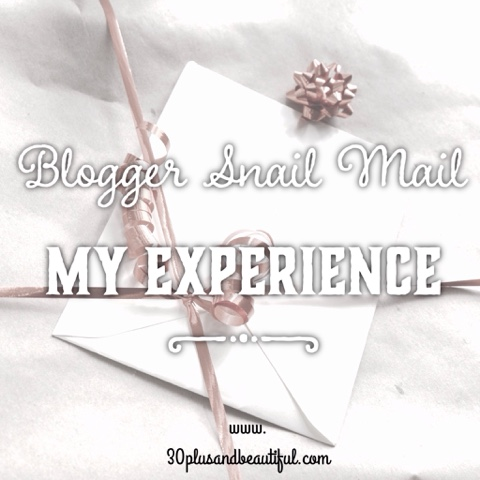 Bloggers' Snail Mail