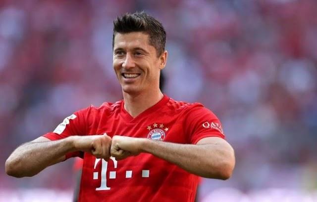 Lewandowski Names Favourite Manager Between Klopp & Guardiola