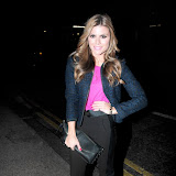 WWW.ENTSIMAGES.COM -  Zoe Hardman at    Style for Stroke and Lipcote - party at The Painted Lady, 65 Redchurch Street, London February 5th 2013                                                      Photo Mobis Photos/OIC 0203 174 1069