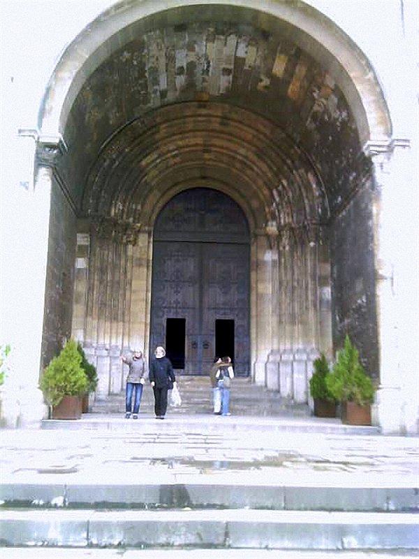 Вход в Кафедральный Собор Ла Се фото