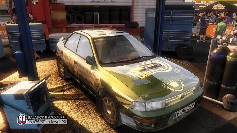 รายการรถกลุ่ม Rally ใน DiRT2 555-01