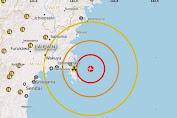 Usai Gempa M 7,2 , Jepang Dilanda Tsunami Setinggi 1 Meter