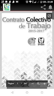 CCT IMSS Contrato Colectivo - náhled