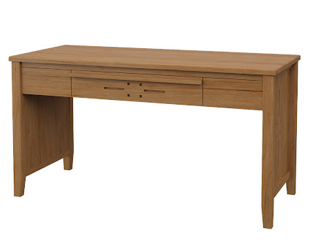 Florence Writing Desk in Calhoun Maple