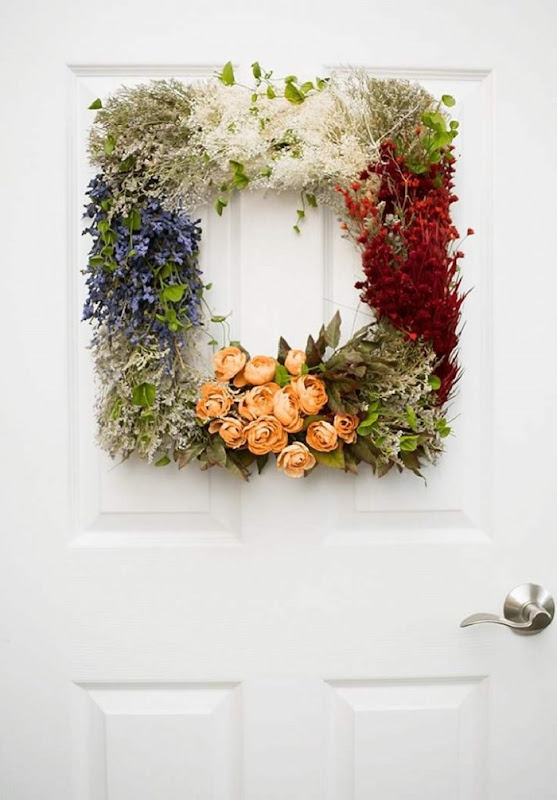 Gorgeous-Vintage-Flower-Wreath-craft.-Hang-it-on-your-door-all-year-long