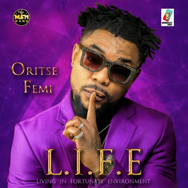 "Oritse Femi Unveils Album Art And Tracklist For New Album ""L.I.F.E"""