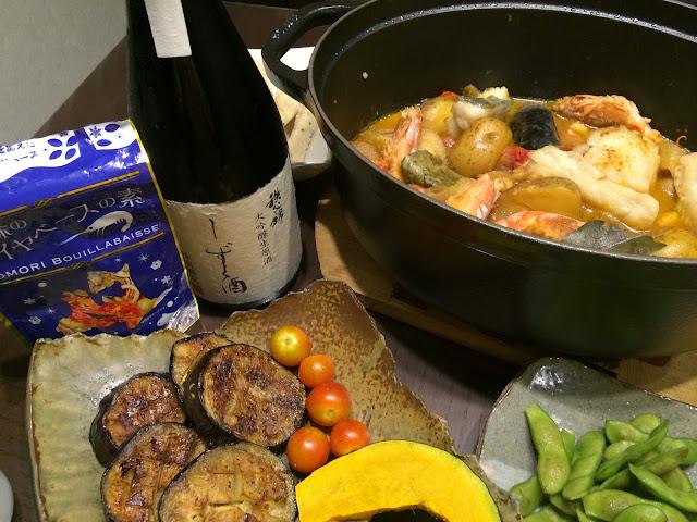 ブイヤベースと日本酒・地酒のマリアージュ