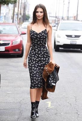 Emily Ratajkowski Street Style
