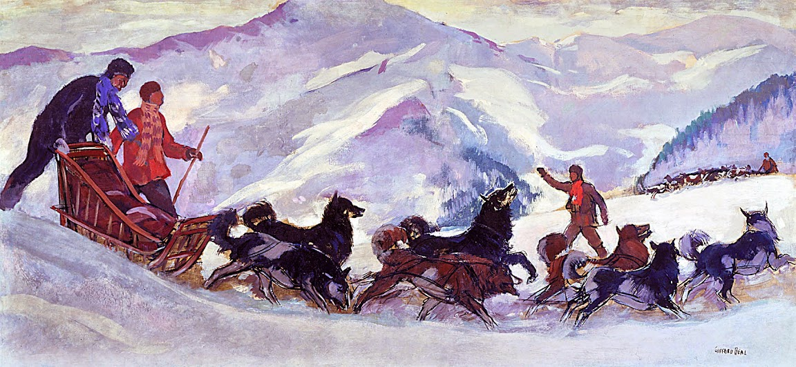 Gifford Beal - Meeting of the Winter Patrol
