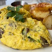 Truffle & Mushroom Omelette