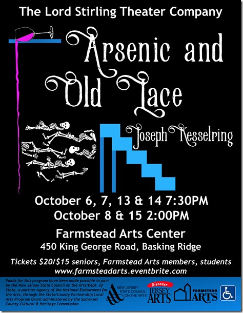 Arsenic and Old Lace Flyer