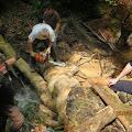 Jadranko, Dražen i Hrvoje u kanjonu
