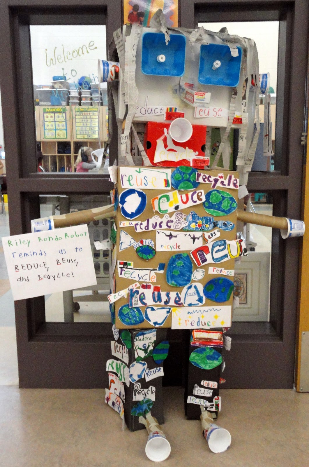 recycled items projects We have been talking all about recycling this week for our summer learning series we have shared art projects for kids using recycled materials, but now it's time.