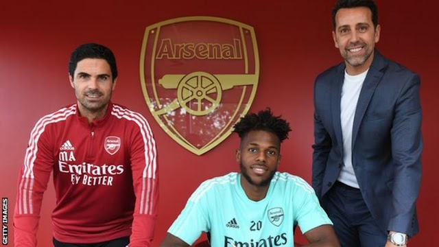 Nuno Tavares: Arsenal sign left-back from Benfica in £8m deal