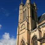 Collégiale Saint-Martin : clocher (19e s.)
