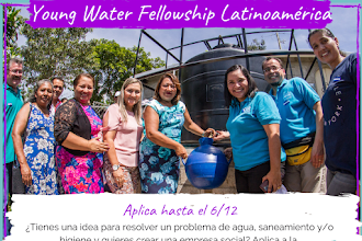Young Water Fellowship Latinoamérica: Convocatoria abierta