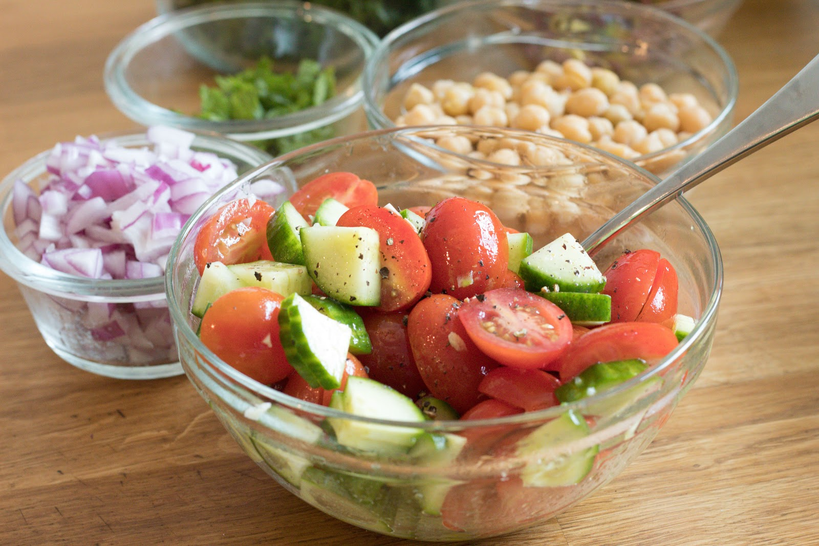 Tomatoes and Cucumbers Patience & Pearls
