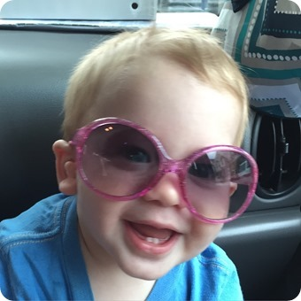 Henry in Sunglasses