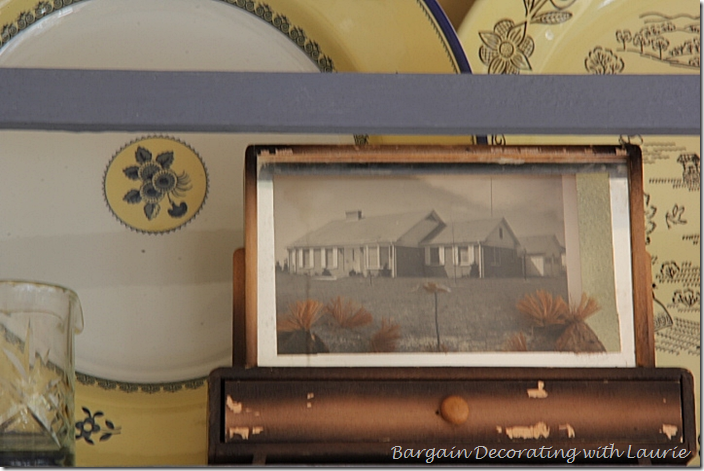 Shadow Box Frame in Fall Vignette