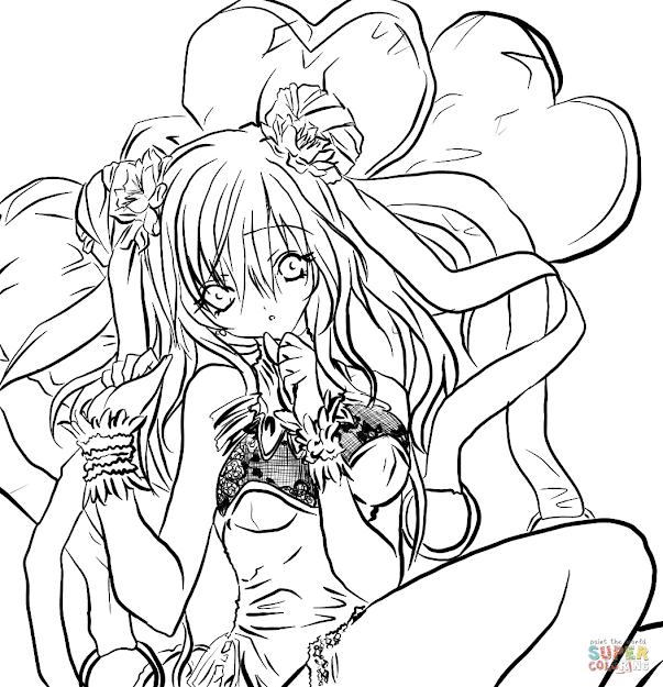 Anime Girl By Gabriela Gogonea