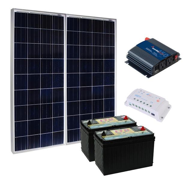 Anuncio: Luz gratis. Especial de paneles solares.