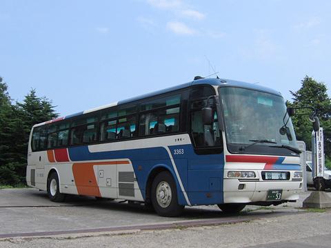 函館バス「函館江差線」 T3383