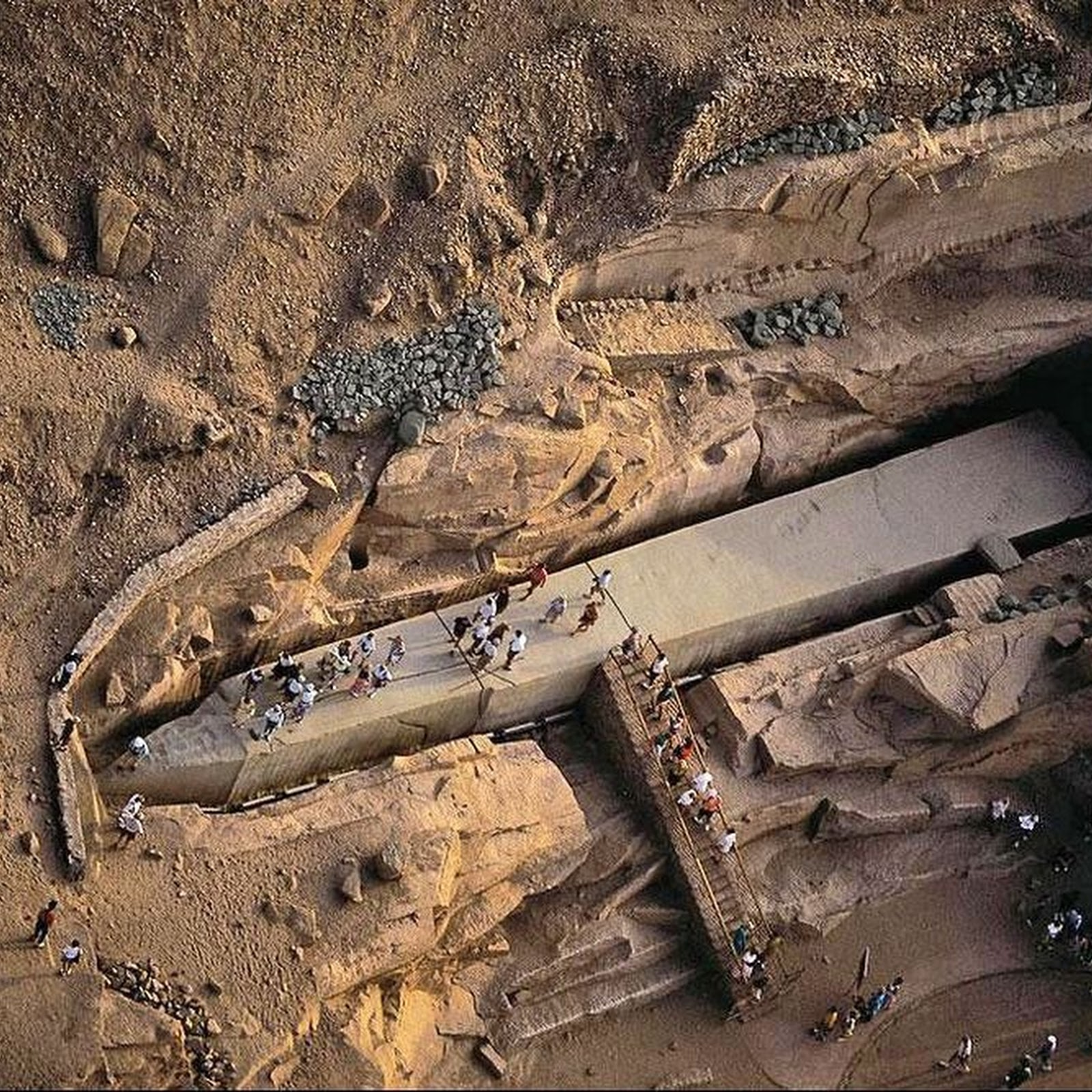 The Unfinished Obelisk of Aswan