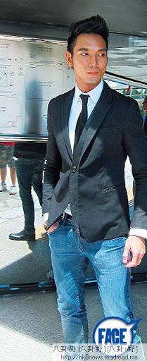35歲阿 Don身高 185cm,身材結實, model出身 嘅佢,上週二出庭時依然十分 chok。《蘋果日報》圖片