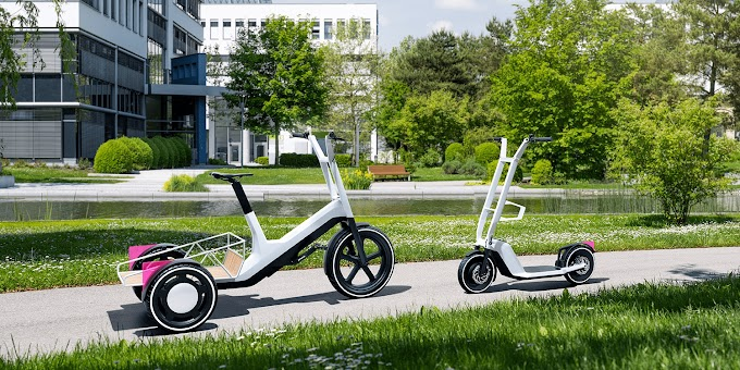 In feature BMW is going to debuts 2 very cool new electric scooter concepts that it won't build