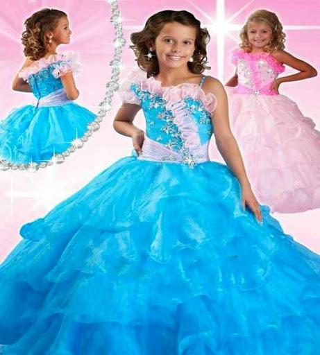 Elegir un buen vestido para la Fiesta de princesas