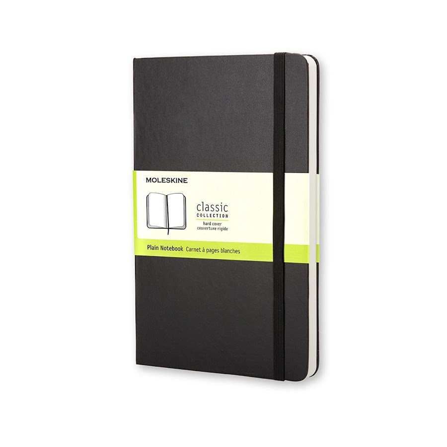 Classic Hard Cover Large Black