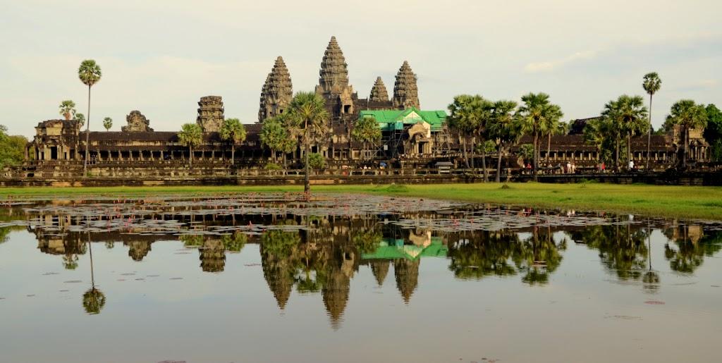 Świątynia Angkar Wat - duma wszystkich mieszkańców Kambodży