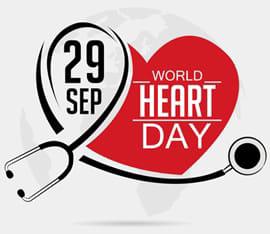 विश्व हृदय दिवस पर ज़िले के स्वास्थ्य केंद्रों पर निःशुल्क चिकित्सा शिविर का होगा आयोजन